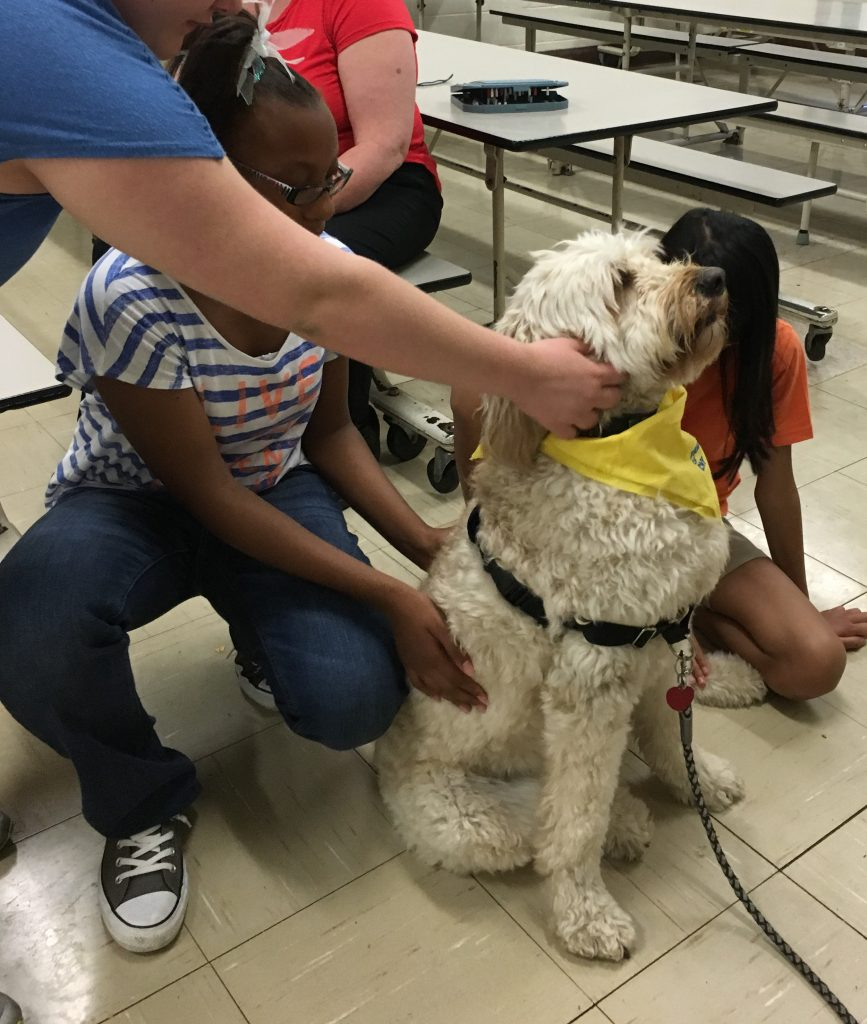 Cortland pet therapy presentation